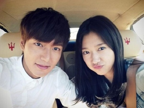 Пак Шин Хё и Ли Мин Хо фото