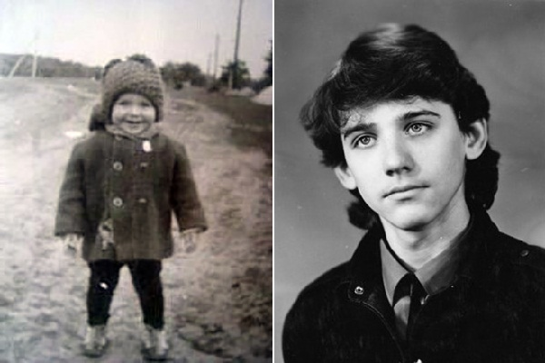 Детство и юность Юрия Батурина фото