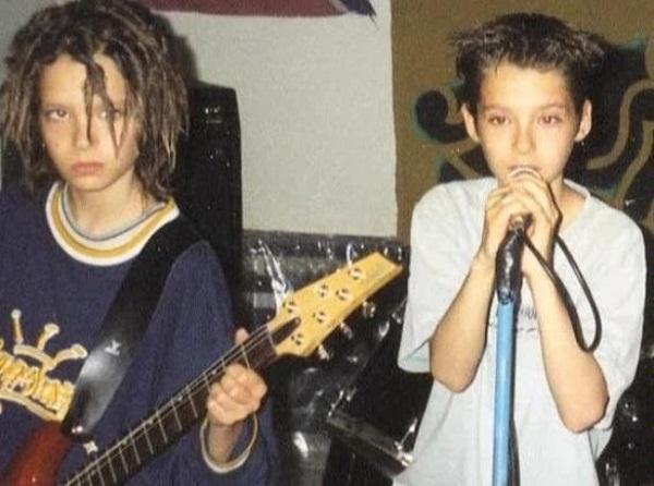 Билл и Том Каулицы в детстве