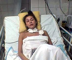 Виктория Карасева в больнице.