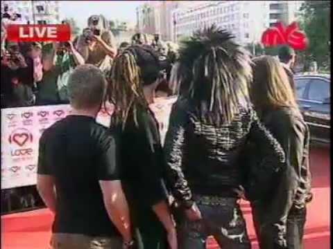 Tokio Hotel Премия муз тв 2007 красная дорожка