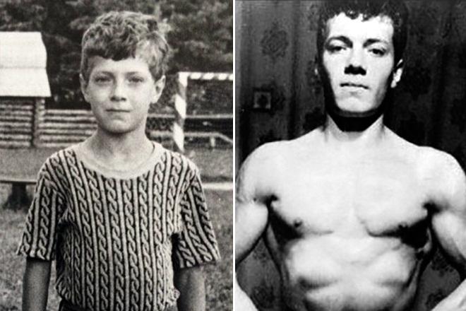 Денис Семенихин в детстве и юности