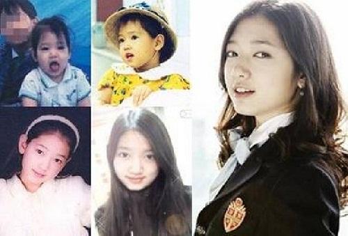 Пак Шин Хе в детстве и юности фото