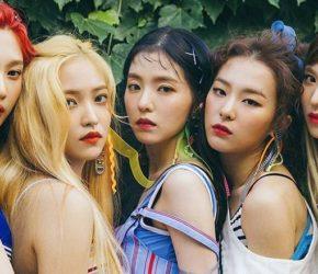 Южнокорейская гёрл-группа Red Velvet