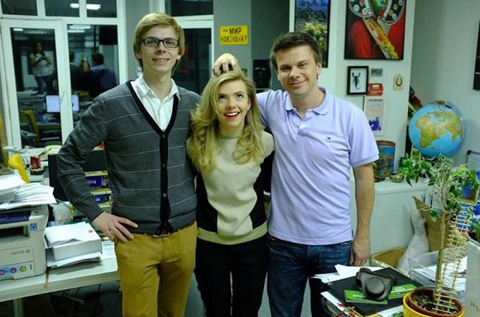 Дмитрий Комаров с братом и сестрой фото.