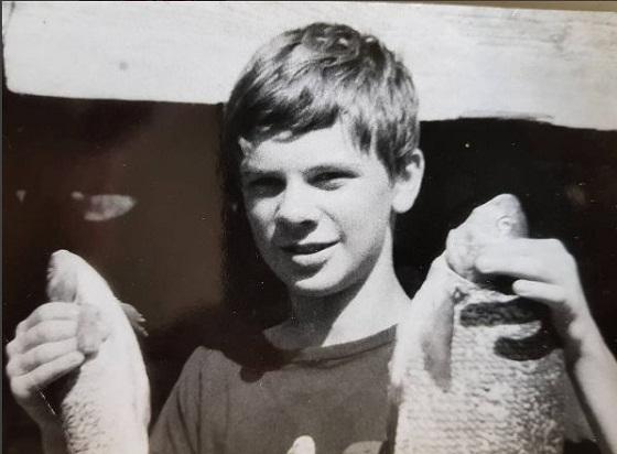 Дмитро Комаров в детстве фото
