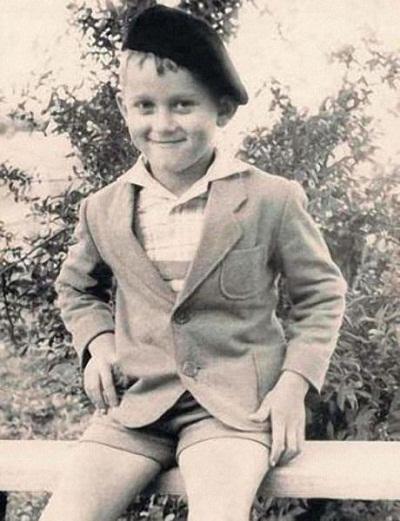Александр Маршал в детстве фото