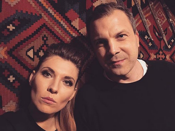 Ольга Скабеева с мужем фото