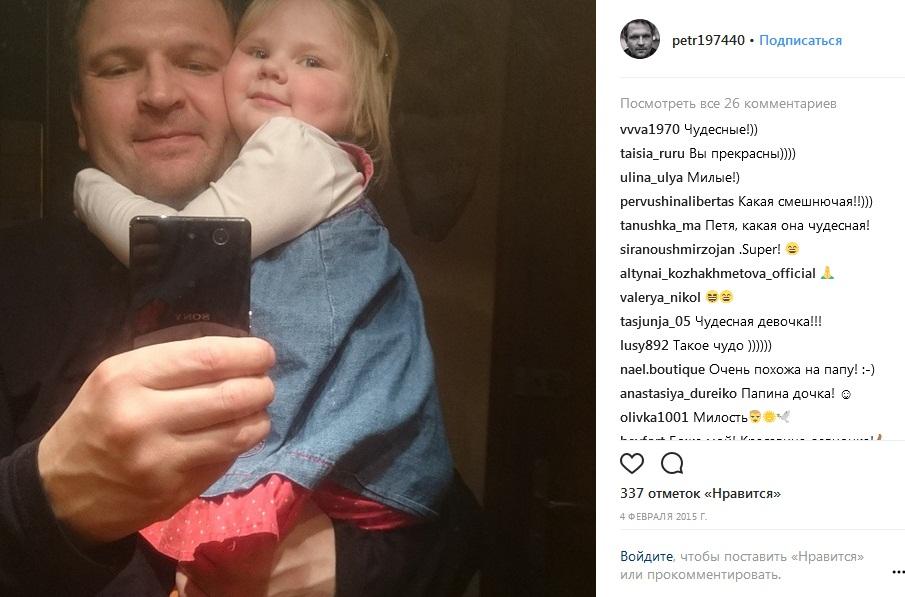 Пётр Баранчеев с дочерью фото
