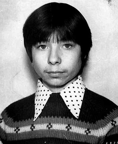 Сергей Зверев в детстве фото