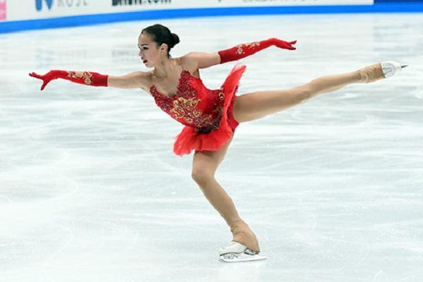 Алина Загитова на Олимпиаде 2018