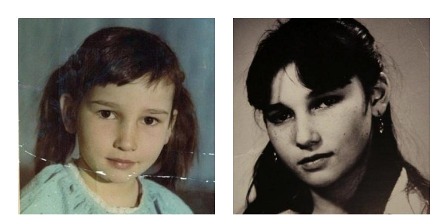 Анфиса Чехова в детстве и юности.