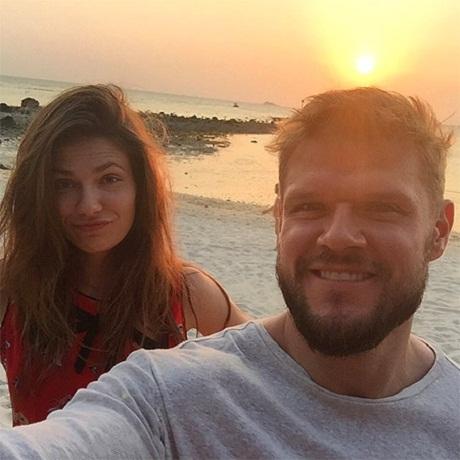 Владимир Яглыч с гражданской женой