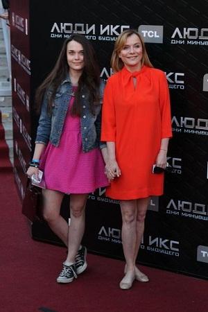 Екатерина Семёнова с дочерью