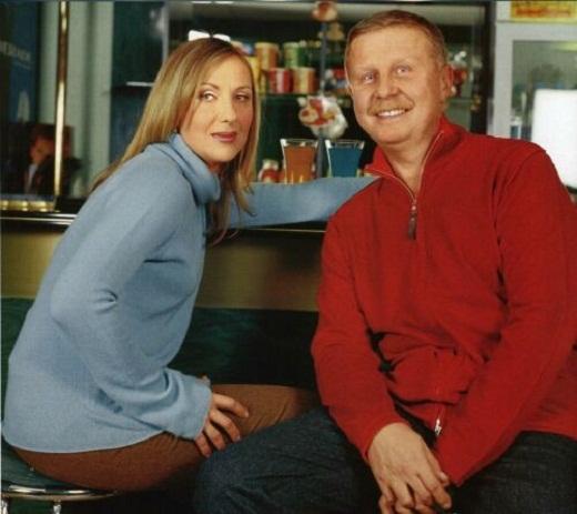 Елена Яковлева с мужем фото