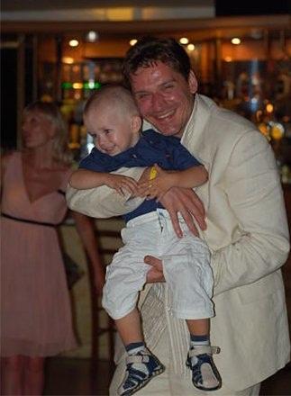 Юрий Батурин с сыном фото