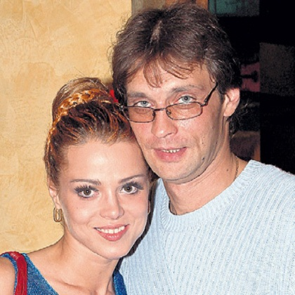 Александр Домогаров с бывшей женой Натальей Громушкиной фото