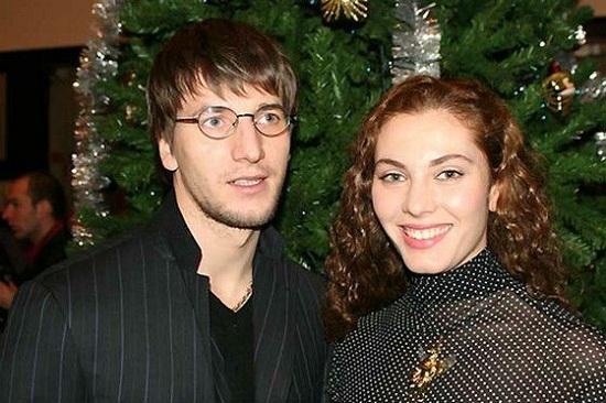 Александр Устюгов с бывшей женой фото