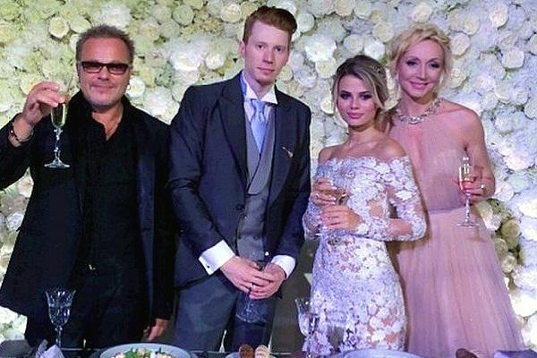 Владимир Пресняков (младший) на свадьбе сына Никиты