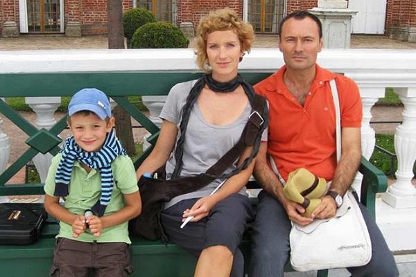Дмитрий Ульянов с семьей женой и сыном фото