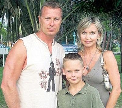 Олег Штефанко с бывшей женой Ларисой и сыном фото