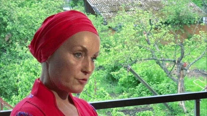 Ольга Шукшина в монастыре фото