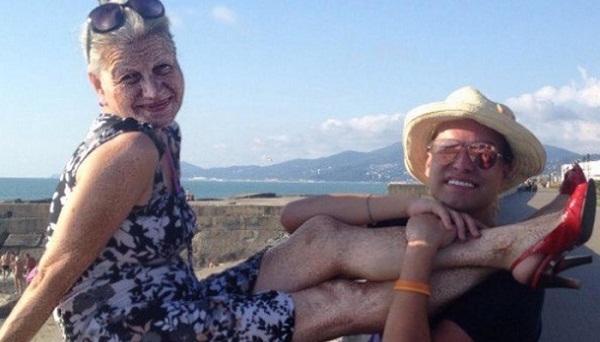 Гоген Солнцев с женой Екатериной Терешкович фото