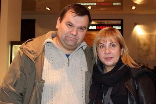Марина Федункив с первым мужем Андреем фото