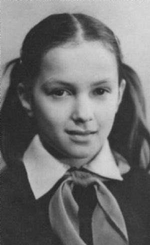 Мария Порошина в детстве фото