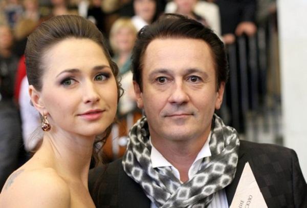 Олег Меньшиков с женой фото
