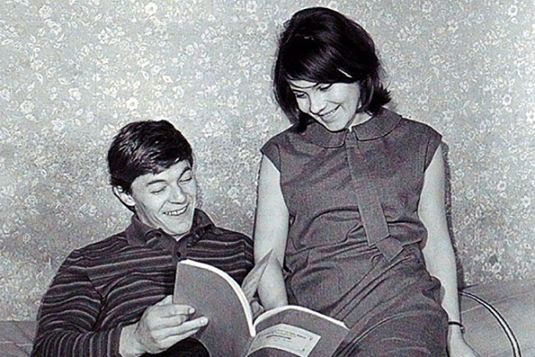 Александр Збруев и Валентина Малявина