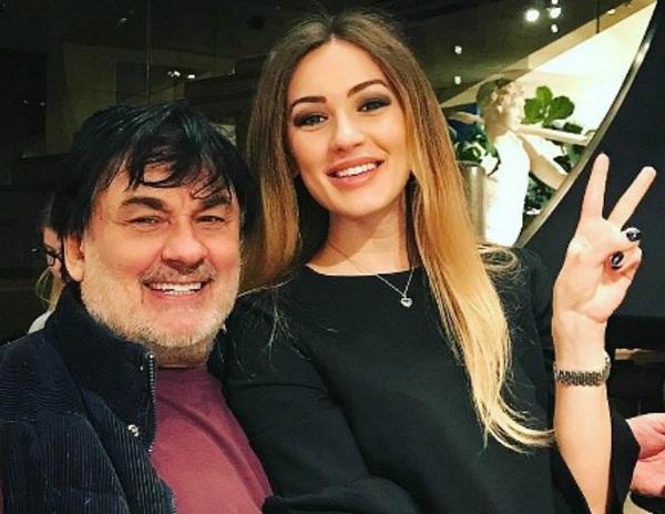 Александр Серов с дочерью Мишель фото