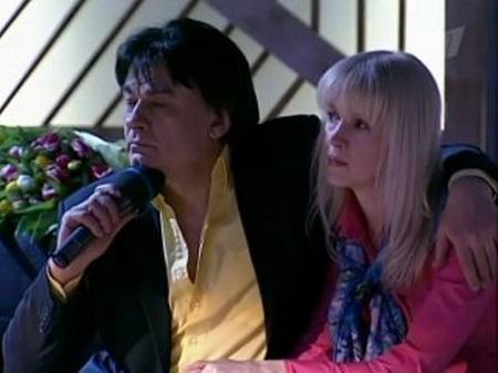 Александр Серов с женой Еленой Стебенёвой фото