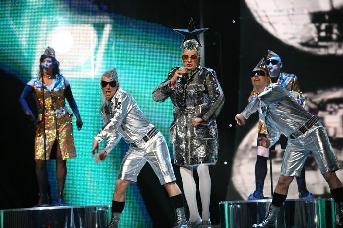 Андрей Данилко на Евровидение в Финляндии