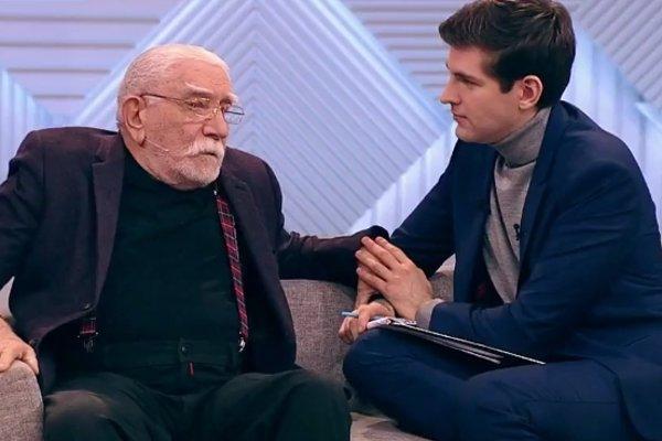 Армен Джигарханян в студии ток-шоу «Пусть говорят»