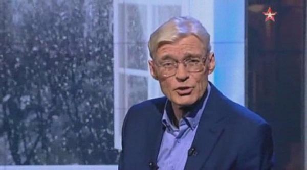 Борис Щербаков в студии передачи «Последний день» на канале «Звезда»