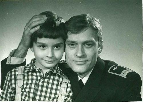 Борис Щербаков с сыном