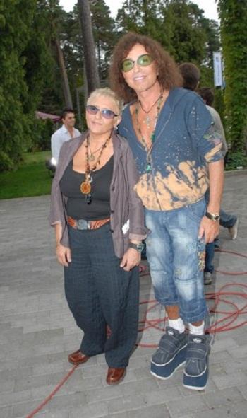 Валерий Леонтьев с женой фото