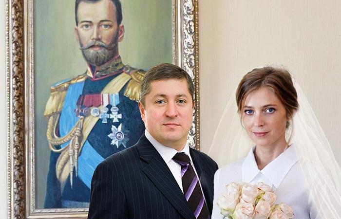 Иван Соловьев с женой Натальей Поклонской фото