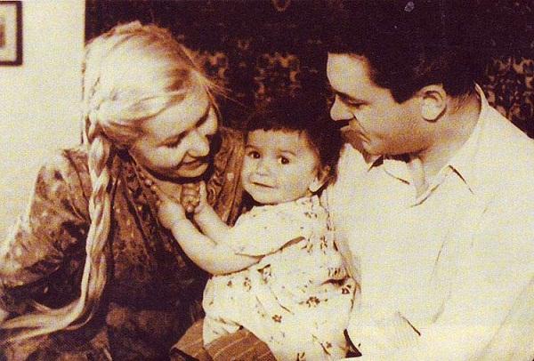 Инна Макарова с мужем и дочерью фото