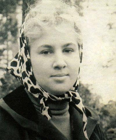 Инна Ульянова в молодости фото