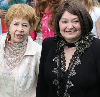 Наталья Бондарчук со своей знаменитой мамой фото