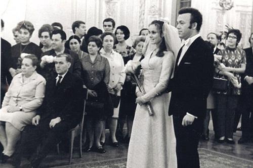 Свадьба Нелли и Иосифа Кобзон