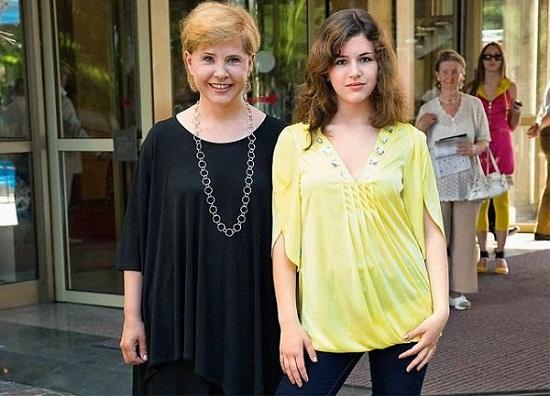 Татьяна Догилева с дочерью фото