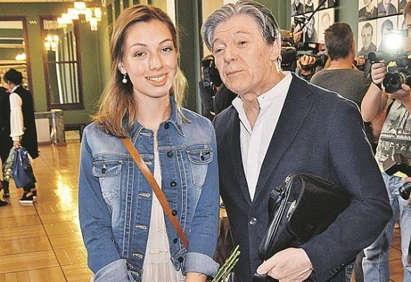 Татьяна Шанина - младшая дочь Александра Збруева фото