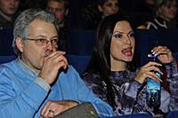 Эвелина Блёданс с бывшим мужем Юрием Стыцковским