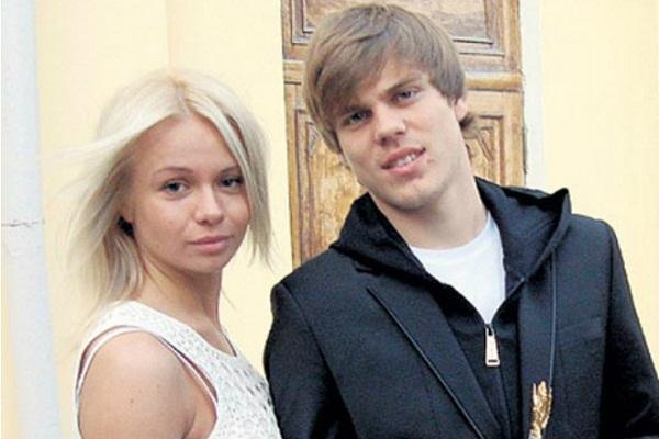 Александр Кокорин и Кристина Долгополова