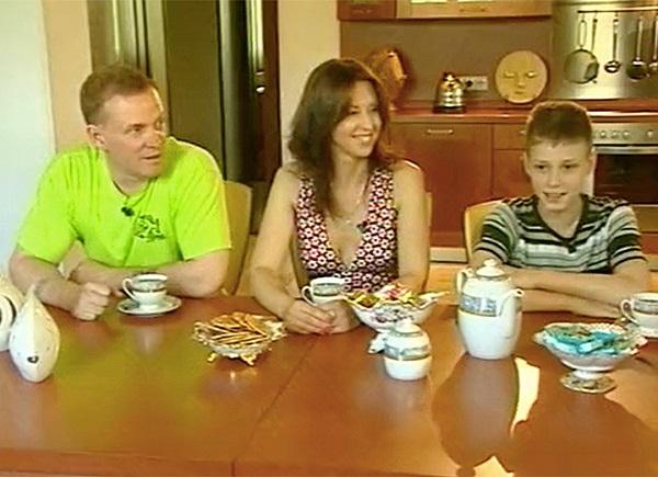 Виктор Рыбин жена и сын фото