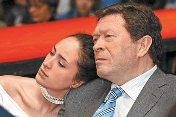Георгий Мартиросян с дочерью