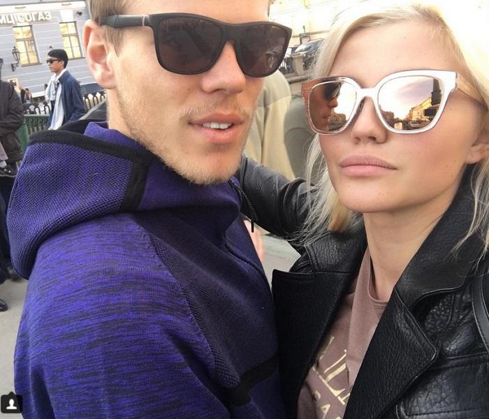 Дарья Валитова и Александр Кокорин